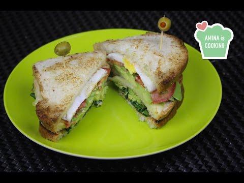 Avocado club sandwich - Episode 82 - Amina is Cooking