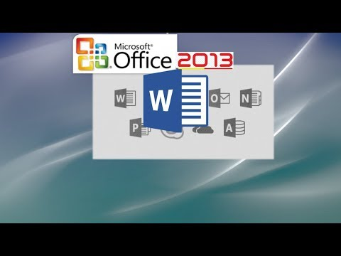 Word 2013 Tutorial: A Comprehensive Tutorial on Word - Work Effectively