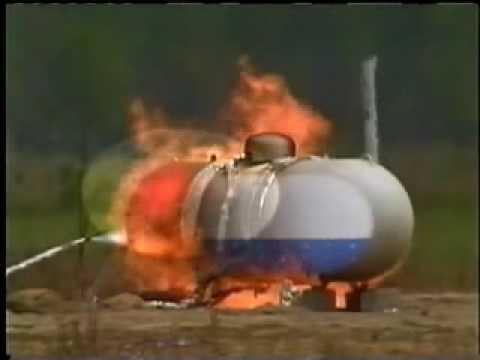 BLEVE (Boiling Liquid Expanding Vapor Explosion) Demonstration - How it Happens Training Video