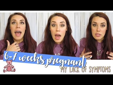 6-7 week pregnancy update! symptoms... or no symptoms??