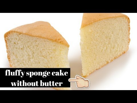 Sponge cake without butter|best sponge cake recipe|