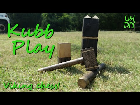 How to play Kubb