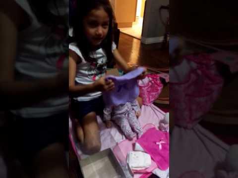 Lylah got new baby stuff part 2