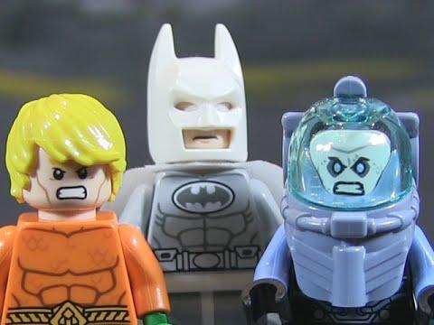 LEGO DC SUPERHEROES - ARCTIC BATMAN VS. MR. FREEZE + Aquaman!