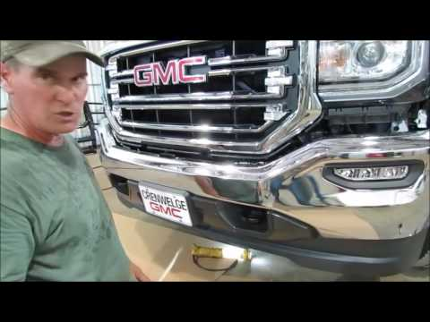 Frontier Grille Guard 2014-17 GMC 1500 Installation
