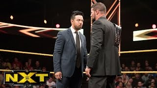 Hideo Itami returns to confront NXT Champion Bobby Roode: WWE NXT, April 19, 2017