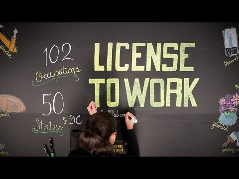 Why Do So Many Need the Government's Permission to Work? (License to Work Ep. 1)