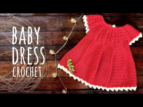 Tutorial Easy Baby Crochet Dress