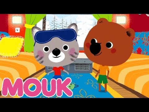 Mouk - Transsiberian Express (Russia to Mongolia) | Cartoon for kids