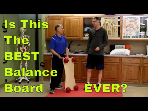 Is This The BEST Balance Board EVER? See What It Does. (Balanza BallStep Trainer)