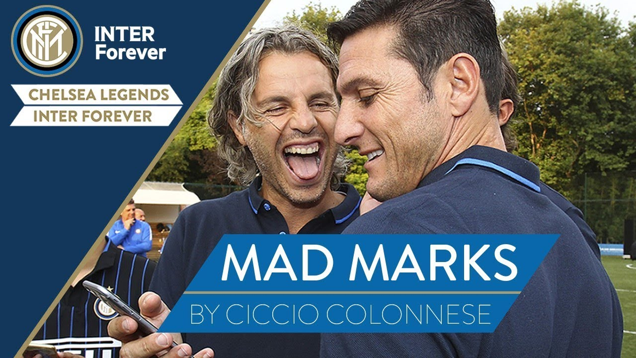 CHELSEA LEGENDS-INTER FOREVER Alternative Commentary   MAD MARKS with Colonnese and Zanetti!