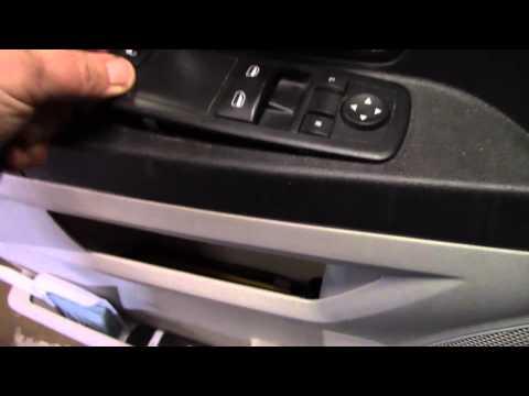2010 Dodge caravan window control replacement