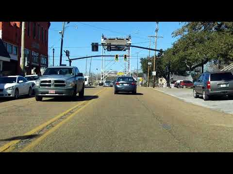 LA 14 BUSINESS (Abbeville) westbound (Part 2/2)