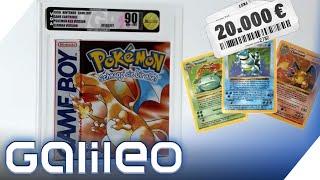400.000 Euro für eine Pokémonkarte? - Spiele, Münzen und Karten von ungeahntem Wert | Galileo