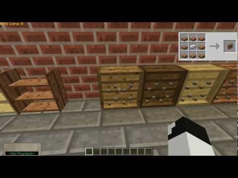 Minecraft Mod Spotlight: Bibliocraft Mod!