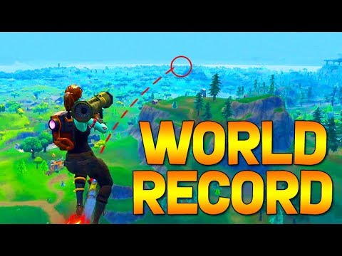 FORTNITE - WORLD RECORD ROCKET RIDE (GUIDED ROCKET ACROSS THE WHOLE MAP)