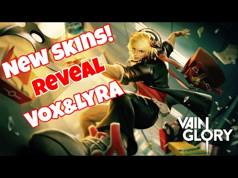 Vainglory - NEW SKINS REVEAL VOX AND LYRA SPECIAL EDITION SKINS
