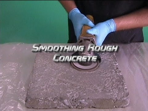 Smoothing Rough Concrete