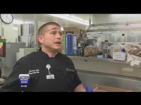 Enloe Chef Jeremy Haley competes at California Nut Festival