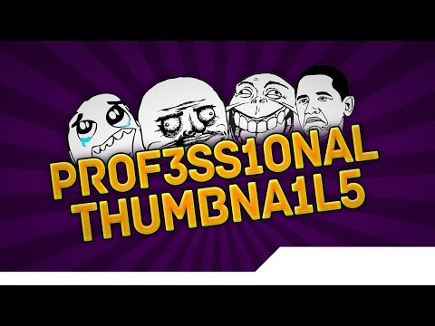 [TUTORIAL] How to Make Professional YouTube Thumbnails that Gain your Videos More Views - Photoshop