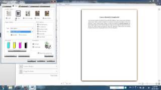 Mencetak Dokumen Microsoft Word 2010