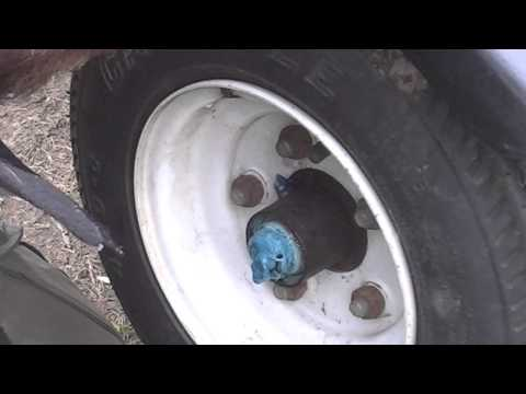 how to check wheel bearrings on a boat trailer 3-31-13