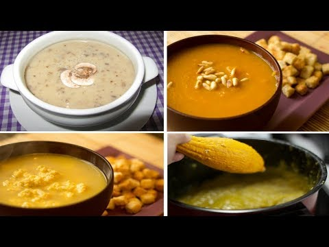 How to make Fall Soup Recipes with 5 Ingredients