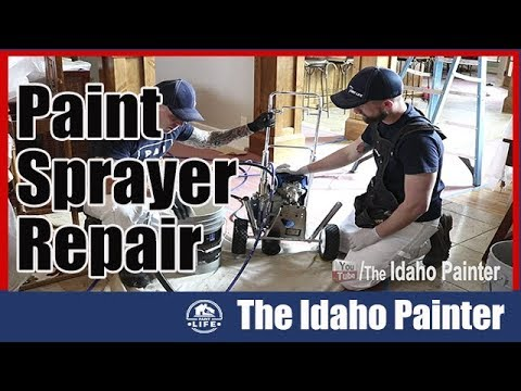 Trouble Shooting Airless Paint Sprayers