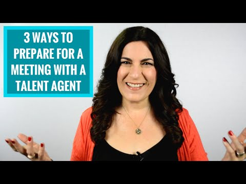 3 Ways to Prep for an Agent Meeting If You Want To Get An Agent