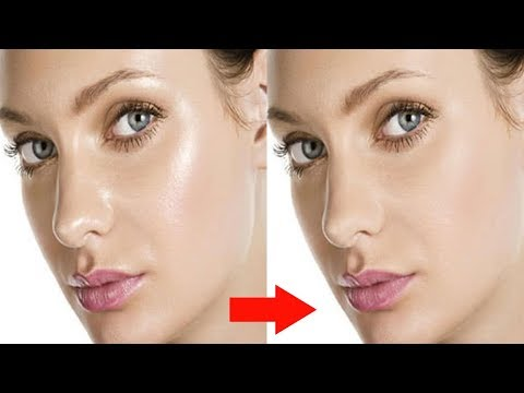 Remove Oil From Face easily in Adobe Photoshop