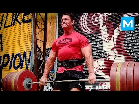 STRONGEST Wrestler - John Cena Workouts | Muscle Madness