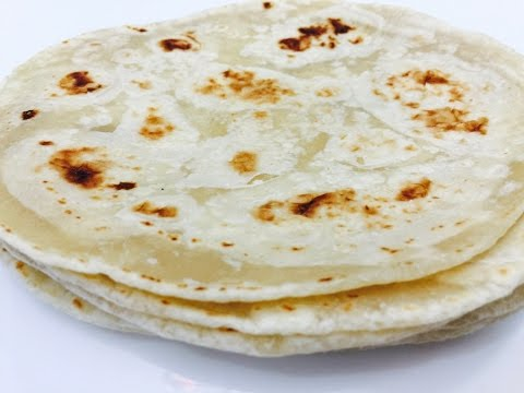 Soft Delicious Homemade Tortillas in English with Raihana's Cuisines
