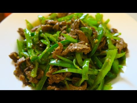 SUPER SPICY! Beef and Pepper Stir-fry Recipe