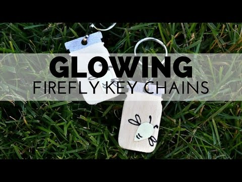 How to Make Firefly Key Chains