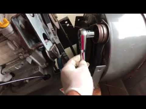Craftsman Snowblower auger belt replacement