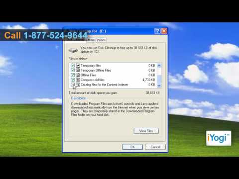 How to Clear Windows® XP Cache