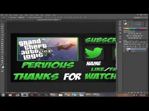 How to Make A Cool Outro Using Photoshop and Windows Live Movie Maker