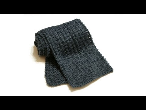 Learn to Knit Your First Scarf Part 1