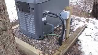17 Kw Honeywell Automatic Standby Generator Exercising