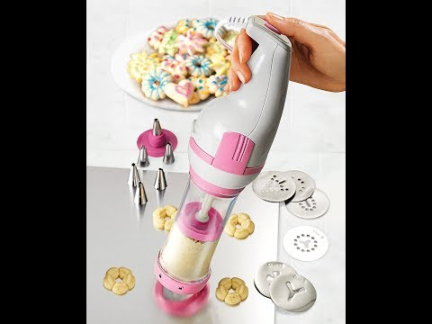 Review: Nostalgia CDP200PINK Electric Cookie Dough Press
