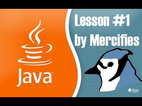Learning Java: #1 - Setting up BlueJ, Writing HelloWorld...