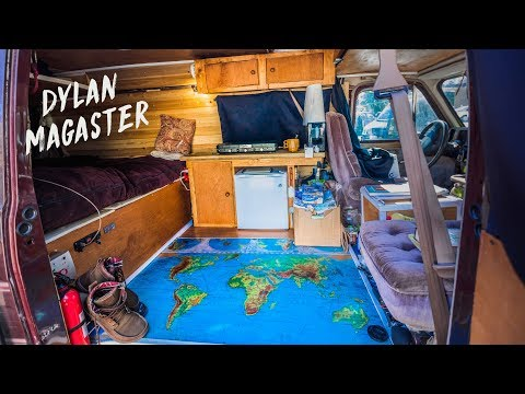 I spent ONE MONTH CONVERTING my VAN into my OFF-GRID MICRO HOME