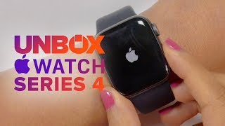 Apple Watch Series 4 Unboxing - Aluminum 40mm Space Gray