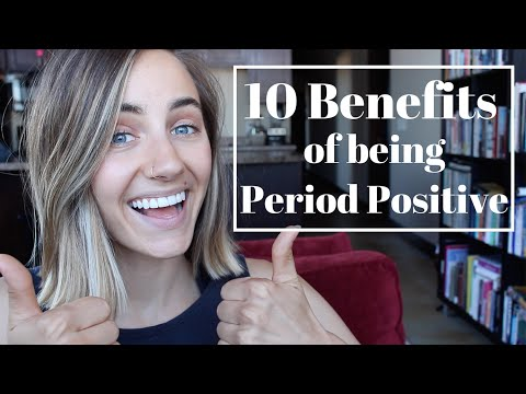 10 Benefits of Being Period Positive