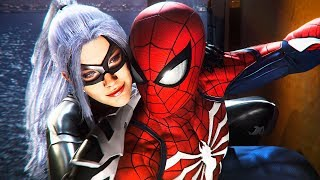 Download Spider-Man PS4 Black Cat DLC Full 100% Walkthrough Gameplay! (Spiderman PS4 DLC Gameplay) Video