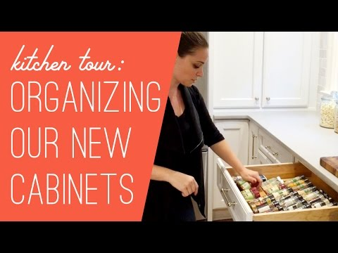 New Kitchen Cabinet Tour: What's Where?