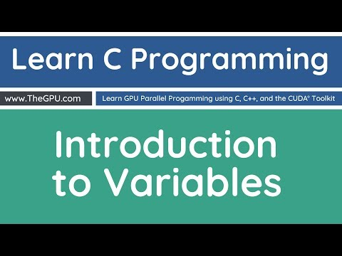 Learn C Programming - Introduction to Variables