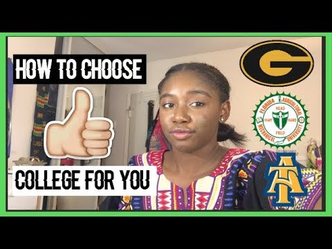 How to Choose the Right College/University For You!!