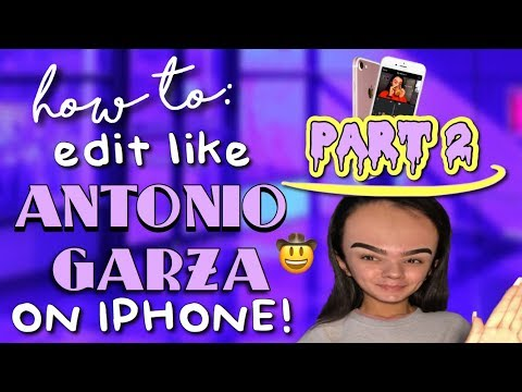 HOW TO EDIT LIKE ANTONIO GARZA ON IPHONE PART 2 (MUSIC, SOUND EFFECTS, MORE!)