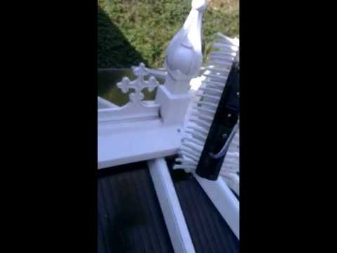 Conservatory Roof Cleaning - How to clean a conservatory roof and finial